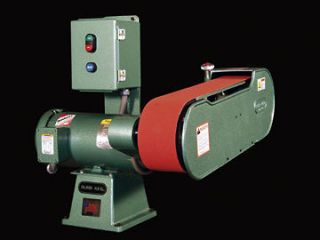 Burr King 960   3 Phase BELT GRINDER, 8000 FPM, 1.5, 2 or 3 HP