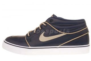 Nike SB Zoom Stefan Janoski MD PR Marine Blue Mens Skate Shoes 472679