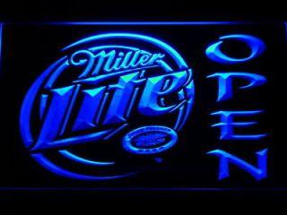 Newly listed 029 b Miller Lite Beer OPEN Bar Neon Light Sign