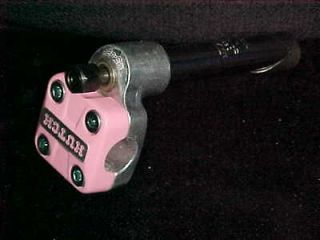 NOS Pink 1985 HUTCH / SR MS 422 STEM 1 THREADED Old School BMX Neck