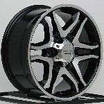16 Inch Black Wheels Rims Chevy Tahoe Silverado Truck GMC Yukon Sierra