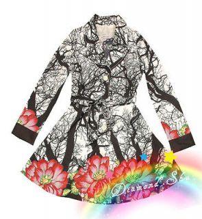 new desigual womens spring coat jacket sz 38