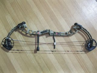 PSE X FORCE AXE Bow Right Hand 26.5  31.5 50#   60# Mossy Oak