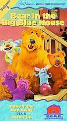 Bear in the Big Blue House   Volume 3 (VHS, 2000, Dura Case; Closed