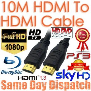 10M HDMI Digital Camera Cable For Samsung Sony Bravia Panasonic LG