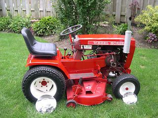 wheel horse c 100 tractor 8 speed