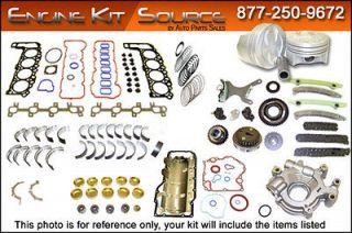 1997 1998 1999 Ford 4.6L VIN 6 SOHC Engine Rebuild Kit EK4149