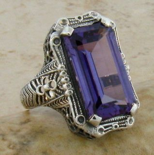 antique alexandrite ring in Vintage & Antique Jewelry
