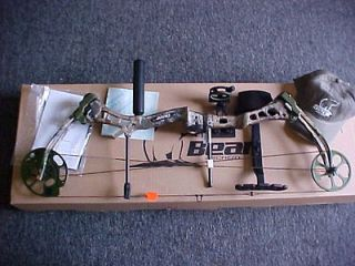 BEAR ARCHERY ENCOUNTER NEW 2013 RIGHT HAND FULL PACKAGE 60 70LB PRO