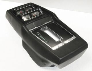1968 74 NOVA CONSOLE KIT WITH GAUGES AUTOMATIC NEW (Fits Chevrolet