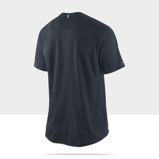 Nike Dri FIT UV Miler Short Sleeve Mens Running Shirt 404650_455_B