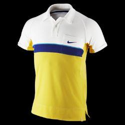 Nike Dri FIT Bold Stripe Mens Tennis Polo