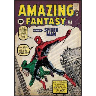 York RoomMates Spiderman Marvel Spiderman Comic 1 Wall Clings