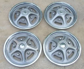 Covers Mag Style Hub Caps 1972 1973 1978 1979 Ford F100 F150 Truck 79