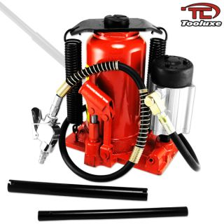 20 Ton Air Hydraulic Bottle Jack Heavy Duty Truck Flat Tire Repair 40