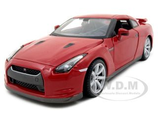 diecast model of 2009 nissan gt r die cast model car by maisto has