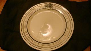 20th Century Fox Cafe de Paris Dinner Plate Hotel China