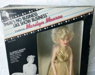 Vintage NIB Marilyn Monroe Doll 20th Century Fox Movie