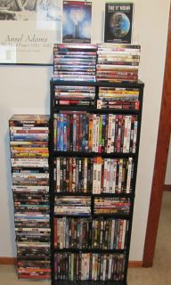 HUGE AWESOME LOT of 212 DVDs Personal Collection Great Titles NR