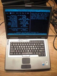 D800 1.7 GHz Pentium M 512 MB BIOS Laptop Notebook for parts 1