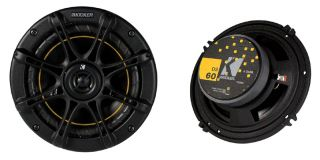 Car Audio DS Series 6 Three Way 4 Ohm Coaxial Speakers in Pair