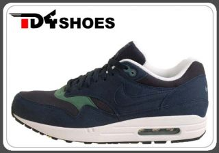 Nike Air Max 1 Obsidian Blue Suede 2011 New Mens Running Casual Shoes