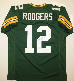 Aaron Rodgers Autographed Green Bay Packers Jersey JSA Authenticated