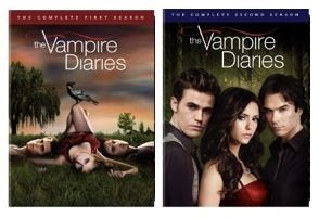 New Vampire Diaries DVD 1st 2nd Seasons 1 2 One and Two First Second
