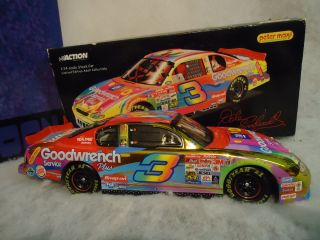 Action 1 24 Nascar Racing Car Dale Earnhardt 3 Peter Max 2000 Monte