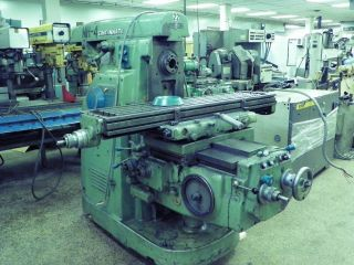 Cincinnati No 2 Dial Type Horizontal Milling Machine