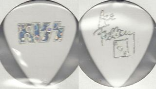 Kiss Ace Frehley White Bubble Dot Farewell Guitar Pick