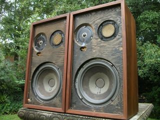 ACOUSTIC RESEARCH AR 2ax 10 3 WAY SPEAKER, REFOAMED CLASSICS