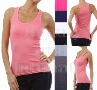 Btyi Active Racerback Sexy Tank Top Sleeveless Cami Basic Layer Yoga