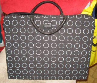 Acme Made Designer Slim Laptop Padded Case Leather