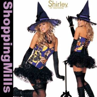 Sexy PLUS SIZE Halloween Costume   PIN UP WITCH COSTUME 1X   2X