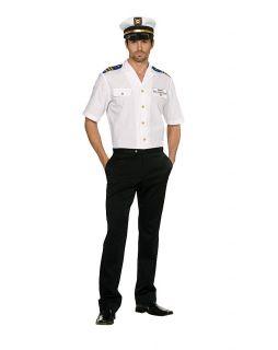 Captain Dick C Normous Sailor Costume Adult Medium New