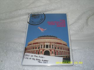 Floyd Australian Show DVD Best of Live at the Royal Albert Hall 2007