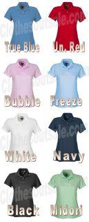 Adidas Ladies ClimaCool Short Sleeve Golf Pique Polo Any CLR Sz