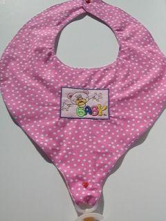 Adult Diaper Baby Sissy Pacifier Bib Miss Binkie Pink NUK Bibbie BPS