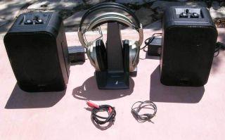 Wireless Advent AW770 Headphones Recoton K965 Wireless Speakers