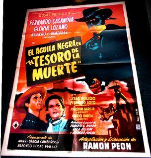 El Aguila Negra En El Tesoro de La Muerte 54 Poster