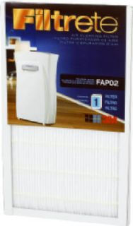 3M FAPF02 Filtrete Air Cleaning Purifier Cleaner Filter