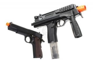 Umarex MP9 M9 Electric Airsoft Gun CQB SMG AEG 1911 Spring Pistol