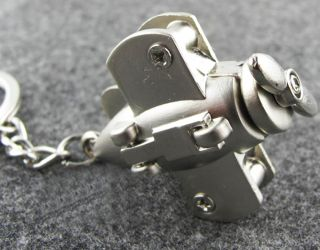 Attacker Airplane Aircraft Keychain Key Ring Chain Fob