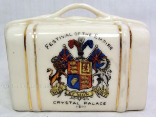 Antique Festival of The Empire Crystal Palace 1911 Commemorative