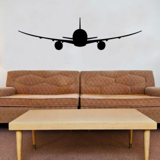 Boeing 747 Airplane Vinyl Wall Window Decal Sticker