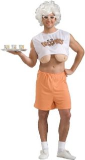 Hooters Drooping Droopers Adult Humor Mens Funny Halloween Costume