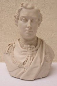 Ware Figure Bust of Prince Albert Husband of Queen Victoria