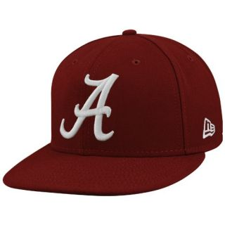 New Era Alabama Crimson Tide Crimson On Field 59FIFTY Fitted Hat