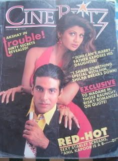 CB Jan 1995 Akshay Kumar Shilpa SHETTY Parveen Babi Aishwarya Rai